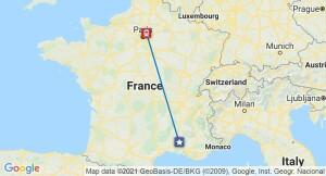 inertial rail map